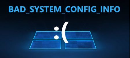 BAD_SYSTEM_CONFIG_INFO