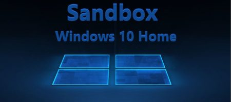 sandbox windows 10 HOME