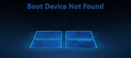 ошибка Boot Device Not Found