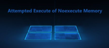 Attempted Execute of Noexecute Memory