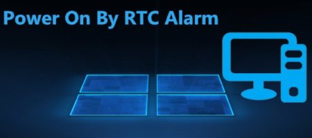 Power On By RTC Alarm